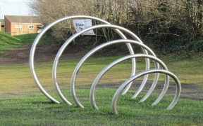 Tube Bending Metal Sculpture Manufacture