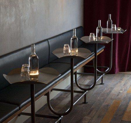 Distinctive Bar Furniture at Polpettos Restaurant in London