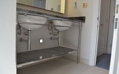 Manufacture of Vanity Units for Waldorf Hotel in London