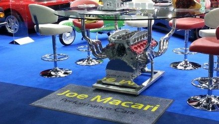 Ferrari tables for Joe Macari
