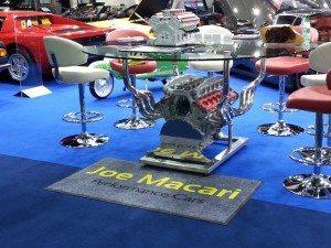 Tube Bending & Precision Engineering for Ferrari table