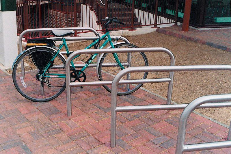 Metal Bike Railings