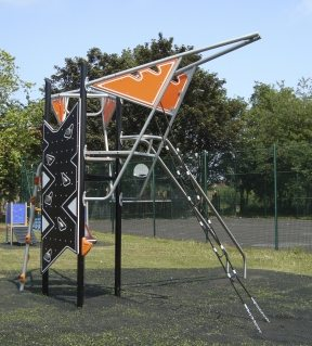 Playground Climbing Frame with Panels