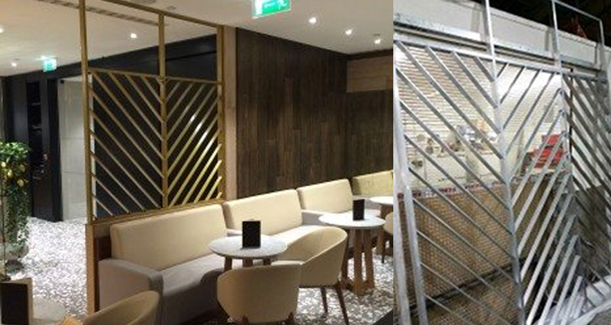 metal furniture for hospitality
