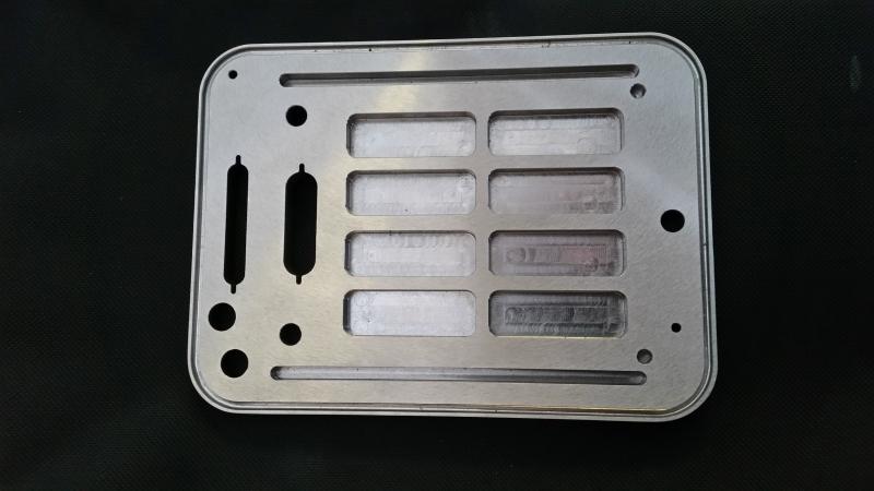 CNC Milled Flange Plate