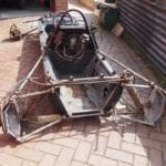 Frame Of Old Racing Car